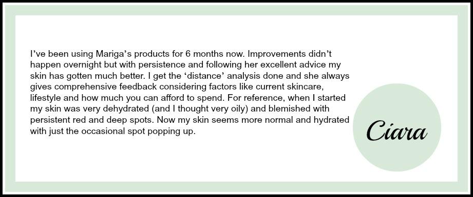Ciara Online testimonial