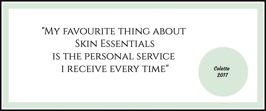 Testimonial for Skin Essentials by Mariga personal service