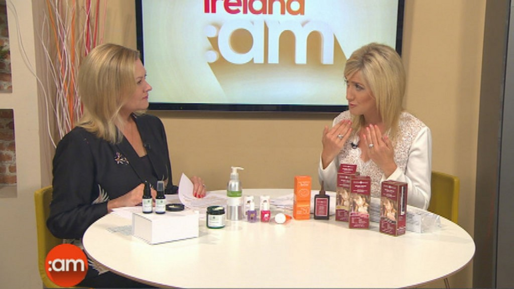 Laura Bermingham article and video for Ireland AM recommending Skin Essentials by Mariga oncology skincare