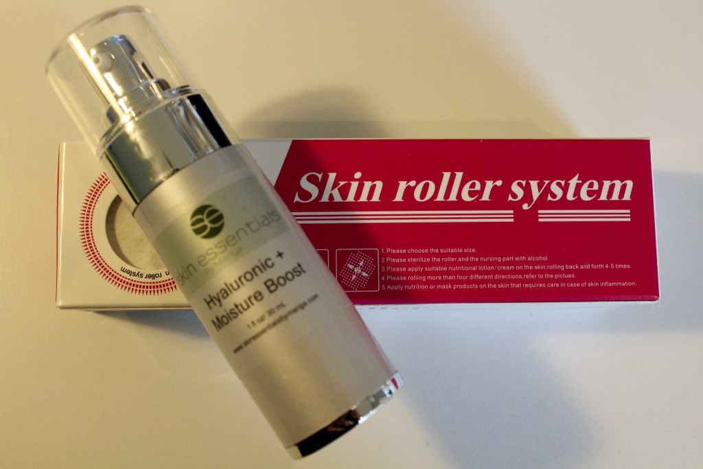 Microneedling, home roller system, rosacea, skin essentials wexford