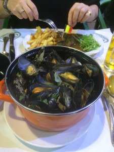 Mussels in Brussels :)