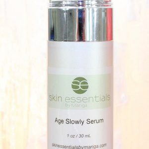 Best anti-ageing products Age Slowly Serum from Skin Essentials wexford