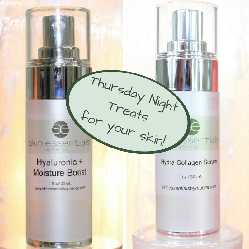 Thursday night skin treats at skin essentials by mariga, wexford