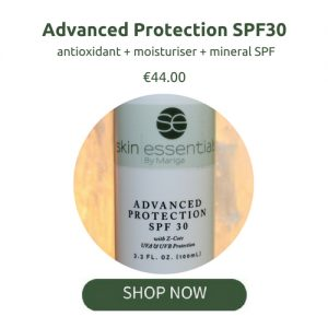 spf30, skincare, sun protection, skin essentials by mariga, wexford