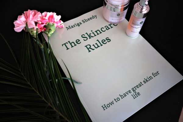 The Skincare Rules, Book by Mariga Sheedy, Skin expert, skin essentials by mariga, wexford
