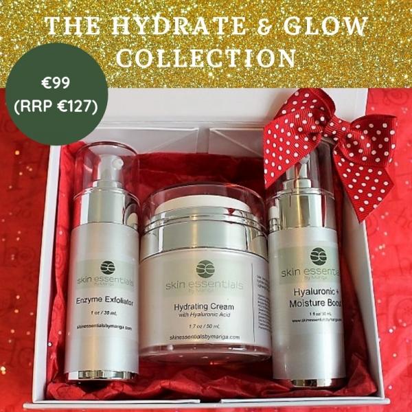Hydrate, skin, moisturising, skincare, skin essentials by mariga, wexford