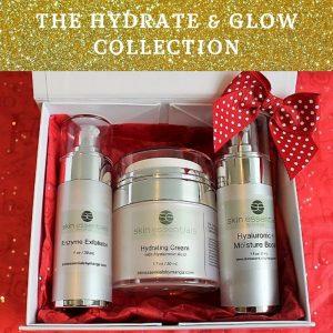 moisturising skincare, christmas gift set, skin essentials by mariga, wexford