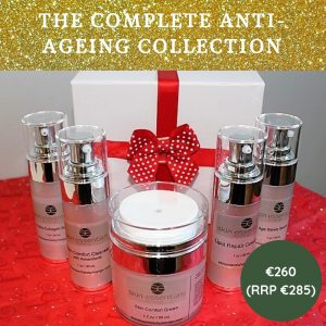 anti-ageing skincare, skin advice christmas gifts, skin essentials by mariga, wexford