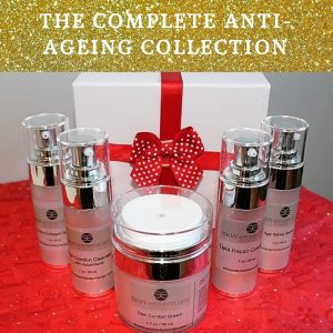 Antiageing, christmas gift set, skin essentials by mariga, wexford