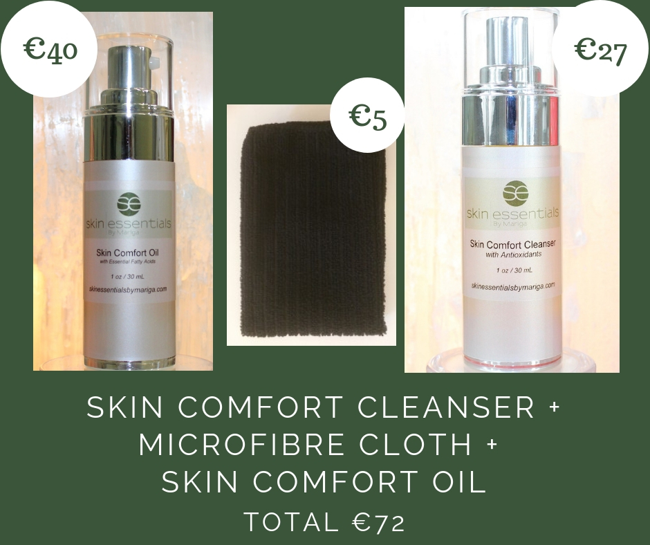 skincare, skin comfort, dry skin, oncology skincare, skin essentials by mariga, wexford