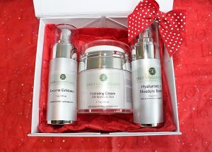 Christmas gift set, skincare, skin essentials by mariga, wexford
