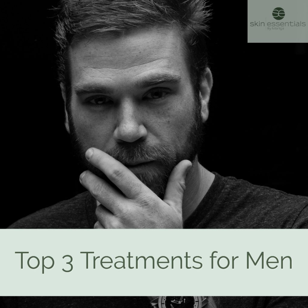 Our Top Three Treatments For Men