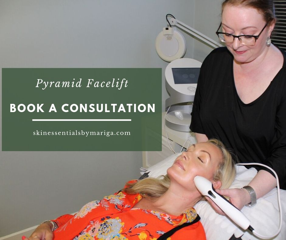 Pyramid Facelift, divine pro, pyramid facelift specialists, skin essentials by mariga, wexford
