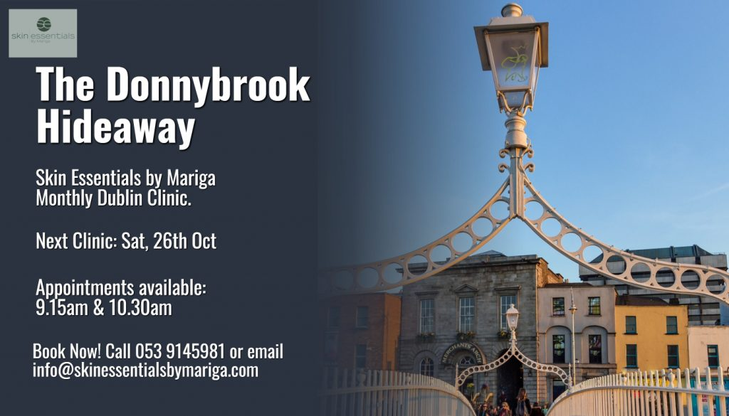 donnybrook skincare clinic, skin essentials by mariga, dublin, antiageing, pyramid facelift