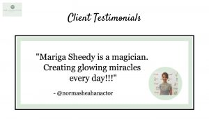 norma sheahan, pyramid facelift, skin essentials by mariga review, wexford