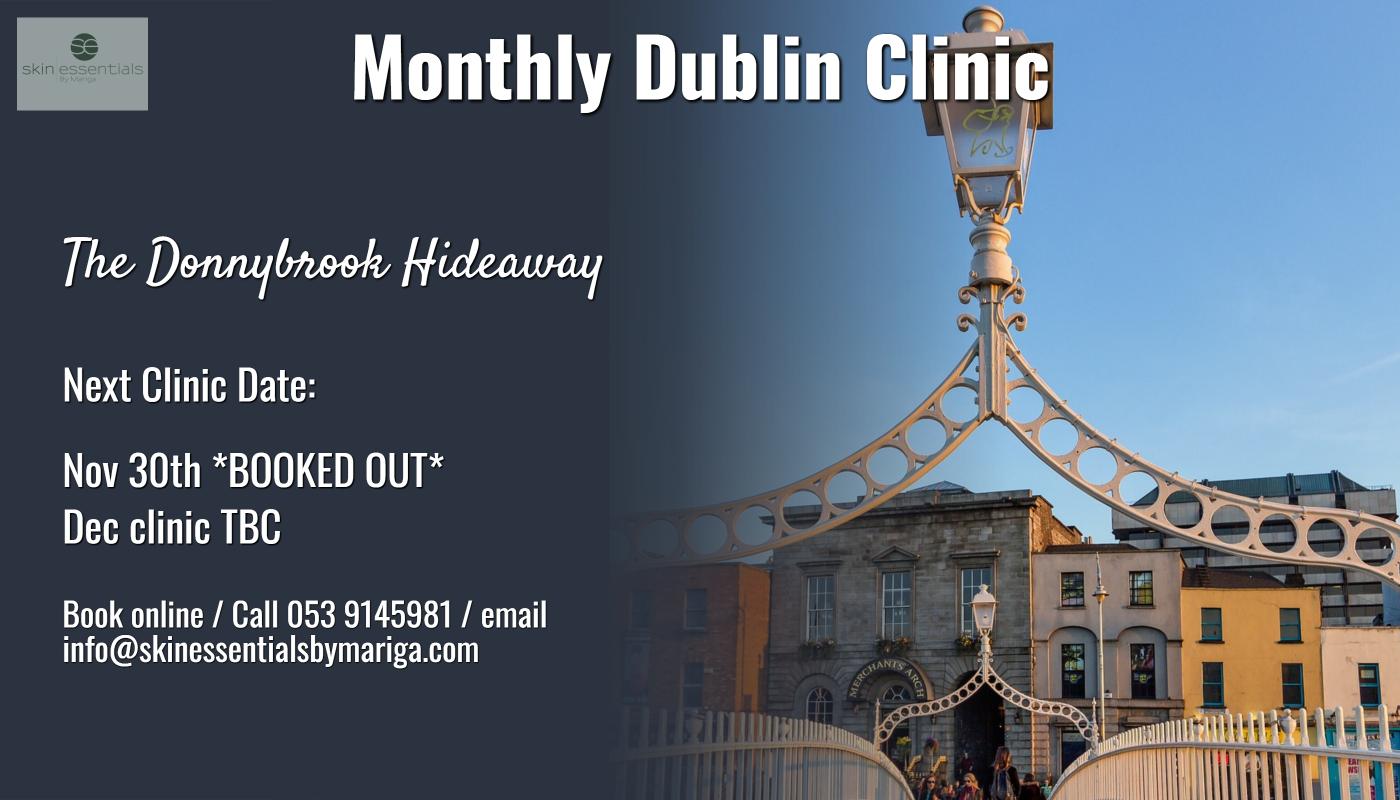 dublin skincare clinic, donnybrook, donnybrook hideaway, skin essentials by mariga, pyramid facelift dublin,