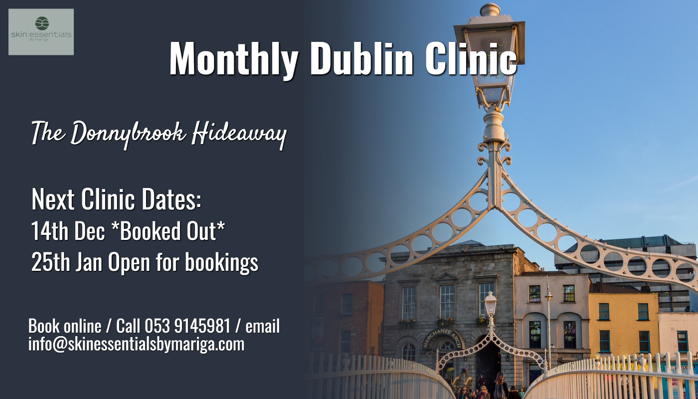 Dublin clinic, donnybrook clinic, skin essentials by mariga, pyramid facelift, divine pro, antiageing,