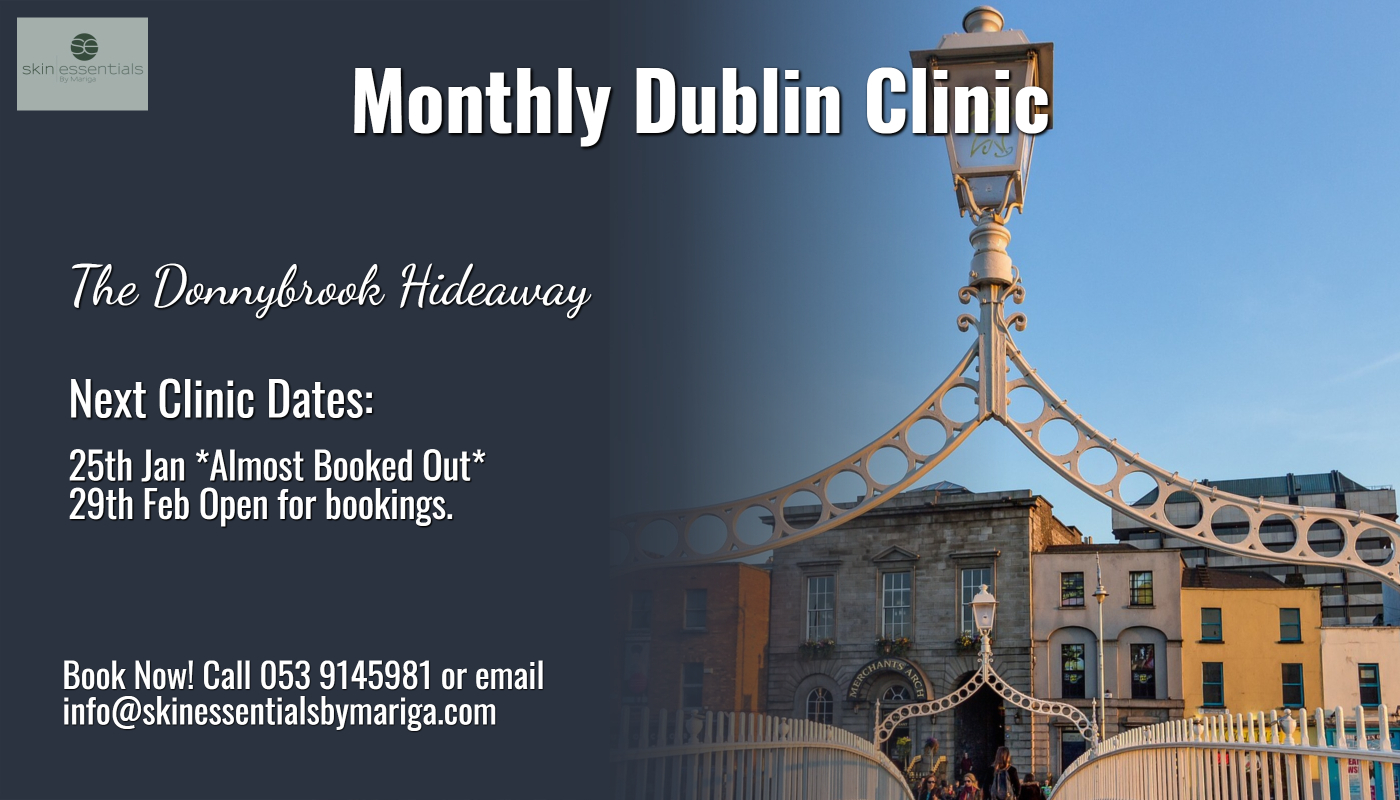 dublin, donnybrook clinic, skin essentials by mariga, antiageing, cryo clinic