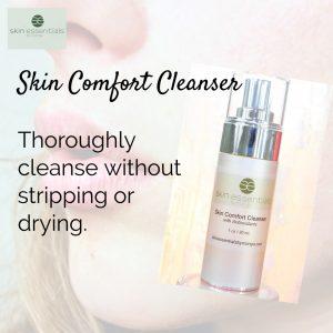 skin comfort cleanser, dry skin, dry skin files, skincare, winter skin, skin essentials by mariga,