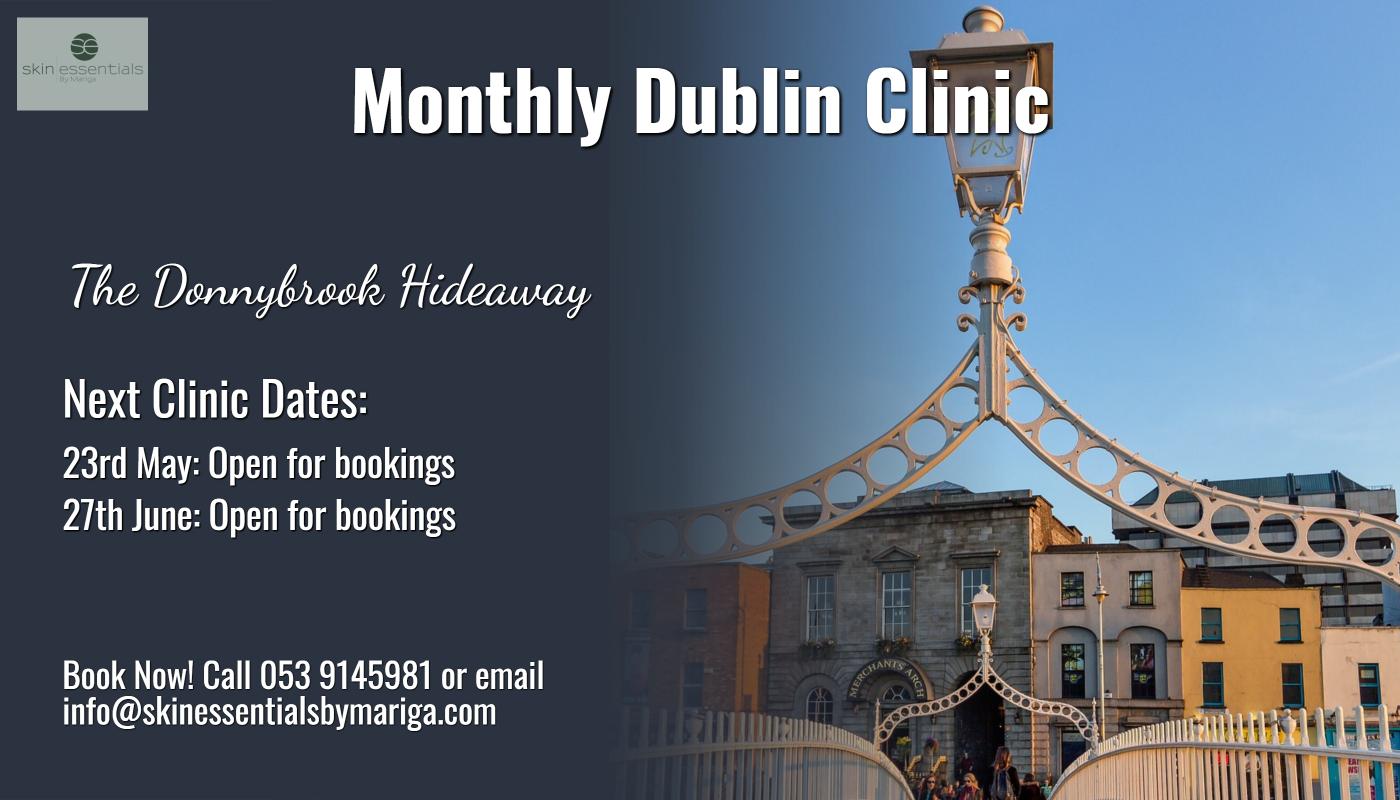 dublin clinic, skin essentials, wexford, skincare, donnybrook clinic, donnybrook hideaway, donnybrook skincare,