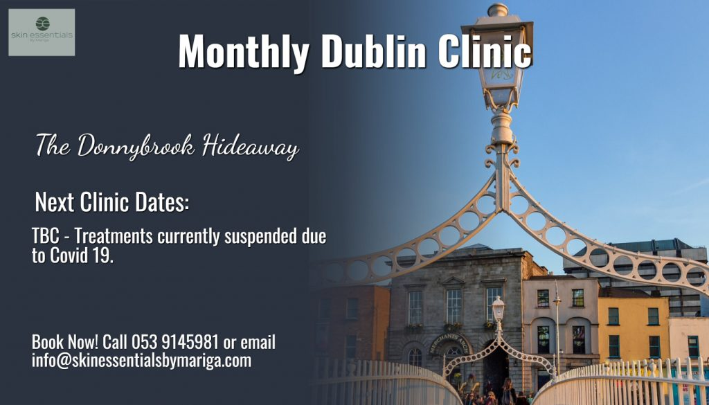 donnybrook skincare, hideaway clinic, dublin skincare, skin essentials by mariga, wexford