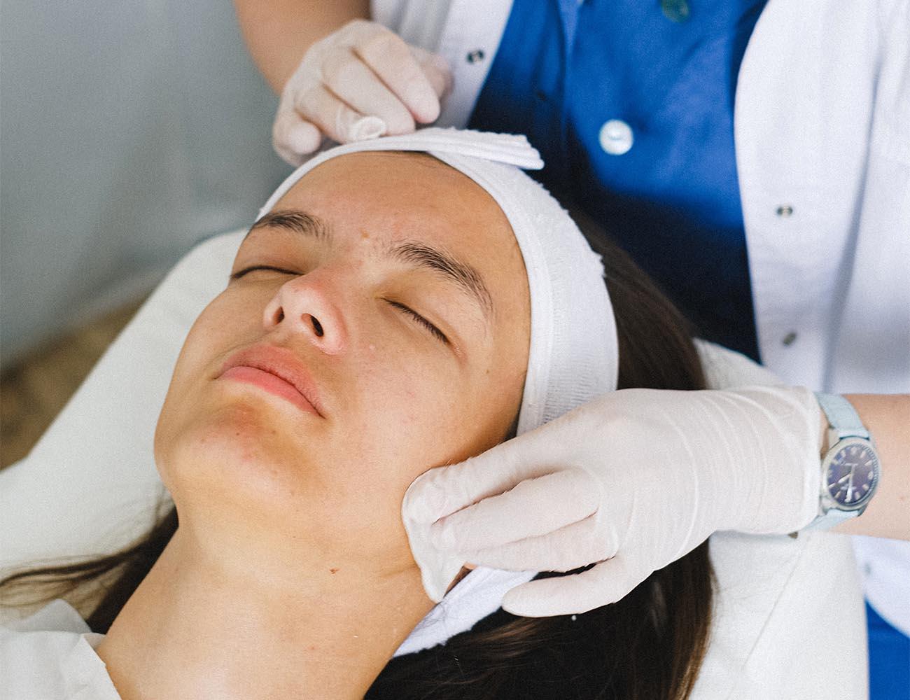 skin analysis examination